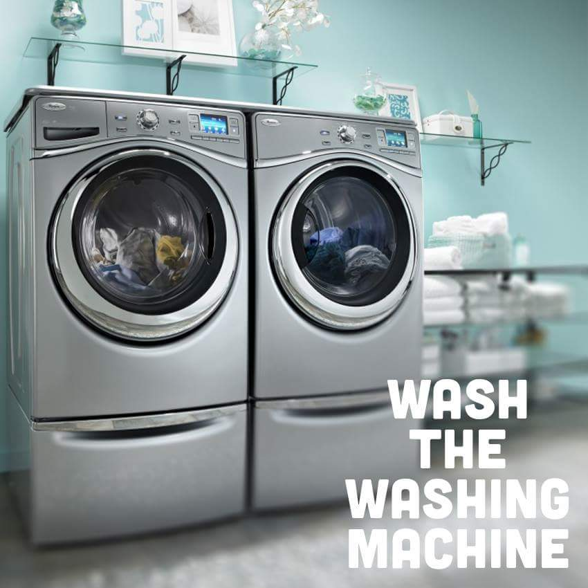 tips wash clothes in washing machine